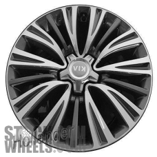 Picture of Kia K900 (2016-2017) 18x7.5 Aluminum Alloy Machined with Charcoal 15 Spoke [74722]