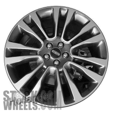 Picture of Lincoln CONTINENTAL (2017-2018) 20x8.5 Aluminum Alloy Machined with Grey 7 Split Spoke [10091]
