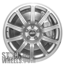 Picture of Subaru IMPREZA (2004) 17x7.5 Aluminum Alloy Chrome 10 Spoke [68734]