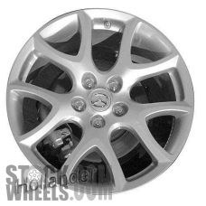 Picture of Mazda 3 (2010-2013) 18x7.5 Aluminum Alloy Chrome 5 Y Spoke [64930]
