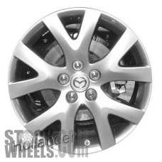 Picture of Mazda CX-7 (2007-2009) 18x7.5 Aluminum Alloy Chrome 5 Y Spoke [64893]