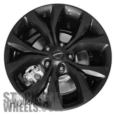 Picture of Chrysler PACIFICA (2017-2019) 20x7.5 Aluminum Alloy Charcoal 5 Split Y Spoke [02623]
