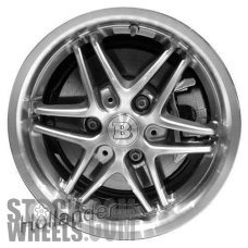 Picture of Smart FORTWO (2009-2014) 16x5.5 Aluminum Alloy Chrome 6 Double Spoke [85184]