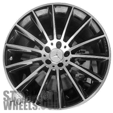 Picture of Mercedes CLS-CLASS (2019-2020) 20x9 Aluminum Alloy Machined with Grey 14 Spoke [85685]