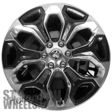 Picture of Dodge 1500 PICKUP (2019-2020) 22x9 Aluminum Alloy Charcoal 6 Y Spoke [02685]