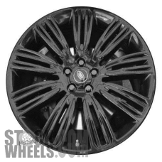 Picture of Land Rover RANGE ROVER (2019-2020) 22x9.5 Aluminum Alloy Gloss Black 9 Double Spoke [72331]