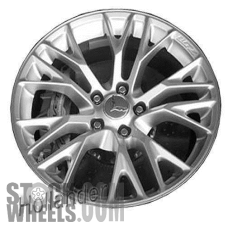Picture of Chevrolet CORVETTE (2016-2018) 20x12 Aluminum Alloy Chrome 10 Y Spoke [05745]