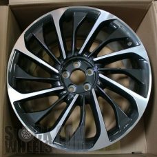 Picture of Lincoln AVIATOR (2020) 22x9.5 Aluminum Alloy Machined with Charcoal 16 Spoke [10241]